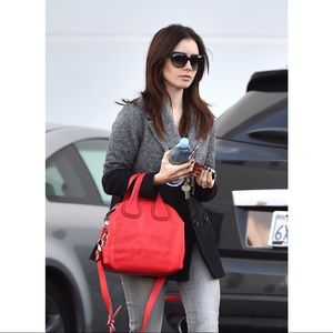 Givenchy Red Medium Nightingale Shoulder Bag